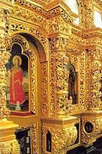 Фрагменты иконостаса Войскового Воскресенского собора станицы Старочеркасской, иконы для которого написаны Егорием Ивановым Греком в 1749 г.
