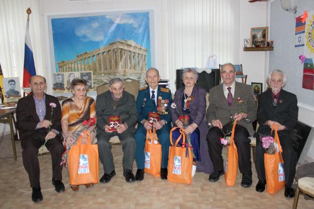 06.05.2015 Встреча с ветеранами ВОВ